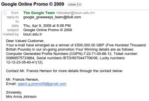 Google online promo?